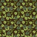 Link toVintage green leaf background vector