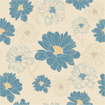 Link toVintage hand painted daisy vector
