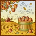 Link toVintage harvest farm 3 vector