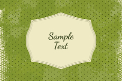 Link toVintage jade green water background vector