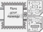 Link toVintage lace border vector