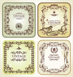 Link toVintage lace card vector