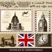 Link toVintage london tour elements 05 vector