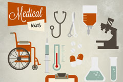 Link toVintage medical icon vector