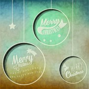 Link toVintage merry christmas logos design vector 02