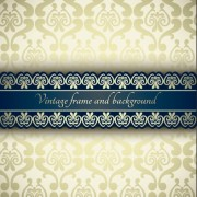 Link toVintage ornate ornaments pattern background art 02 free