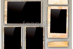 Link toVintage photo frames vector
