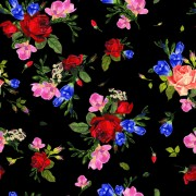 Link toVintage roses vector seamless pattern 04 free