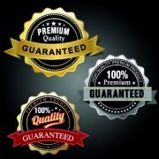 Link toVintage round premium quality label vector 02