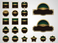 Link toVintage stickers vector free