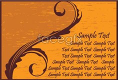 Link tovector eps of cards 4 style Vintage