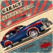 Link toVintage style car advertising poster vector 03 free