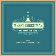 Link toVintage style frames christmas background vector