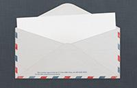 Link toVintage u.s. air mail envelope psd