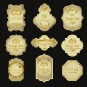 Link toVintage wine labels design vector 03