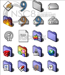 Link toViolet blue series system icons