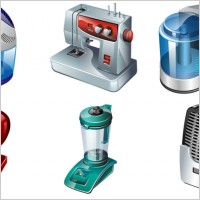 Link toVista electrical appliances icons pack