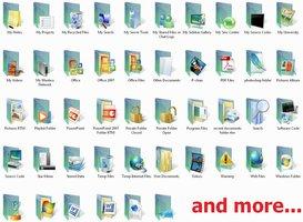 Link toVista rtm folders- 104 icons