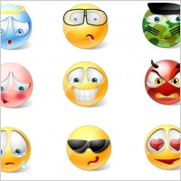 Link toVista style emoticons icons icons pack