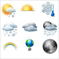 Link toVista style weather icons set icons pack