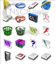 Link toVista system desktop icons
