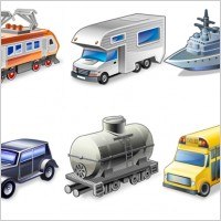 Link toVista transportation icons icons pack