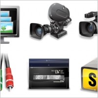 Link toVista video production icons icons pack