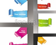 Link toVivid traces of torn paper edge cut vector