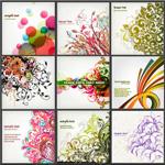 Link toVogue vintage patterns vector