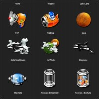 Link toVolcanoland icons icons pack