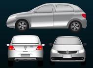 Link toVolkswagen car vector free