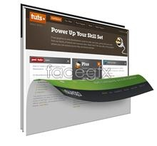 Link toVoltage web site templates psd