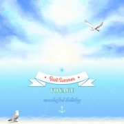 Link toVoyage best summer vector background 01 free
