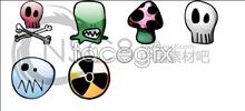 Link toWacky wax cloth skull icon