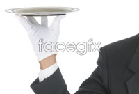 Link toWaiter trays pose hd pictures 3