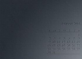 Link toWall calendar - january 2011