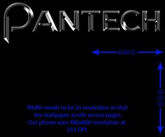 Link toWallpaper template for pantech burst/presto/p9070