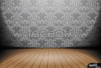 Link toWallpapers for indoor flooring vector