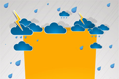 Link toWalt clouds origami background vector