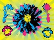 Link toWarhol flowers vector free