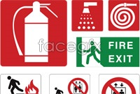 Link toWarning labels vector icons
