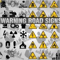Link toWarning road signs