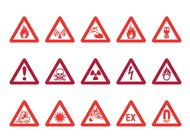 Link toWarning signs vector free