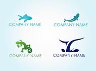 Link toWater animal logos vector free