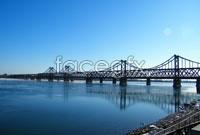 Water bridge landscape high resolution images