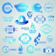 Link toWater logos creative design vector 01