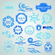 Link toWater logos creative design vector 03
