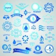Link toWater logos creative design vector 05