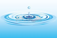 Link toWater ripple background vector