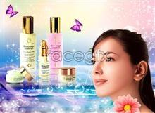 Link toWater run skin cosmetics psd